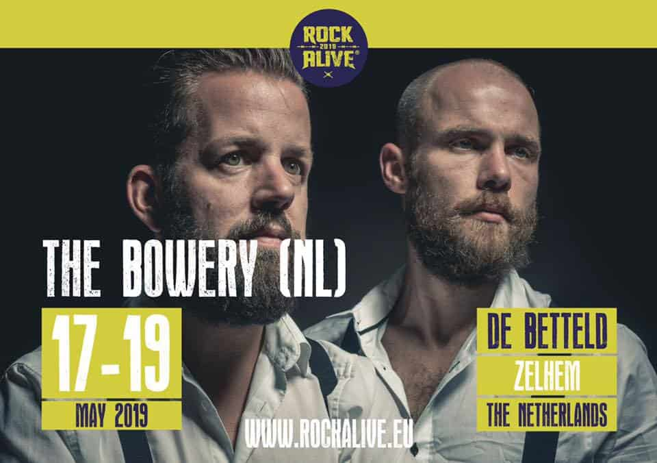 The Bowery Rock Alive Betteld